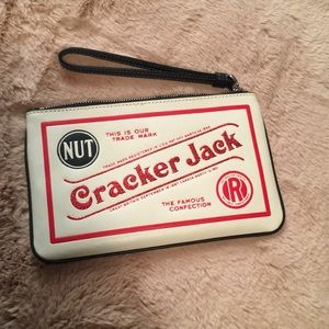 Coach Leather Cracker Jack wristlet